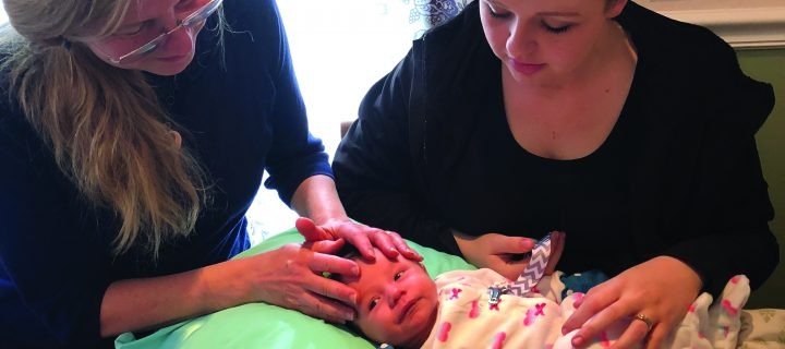 CranioSacral Therapy for Infants